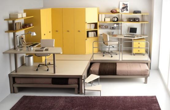 اضغط على الصورة لعرض أكبر  الاســـم:big-yellow-teenage-loft-554x360.jpg المشاهدات:1387 الحجـــم:46.1 كيلوبايت الرقم:42752