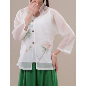 اضغط على الصورة لعرض أكبر  الاســـم:rose-chiffon-blouse.jpg المشاهدات:8 الحجـــم:8.0 كيلوبايت الرقم:94479