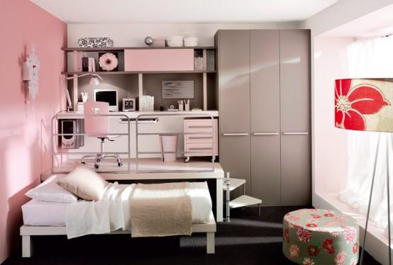 غرف نوم للعرسان بنات اطفال من ايكيا مودرن موديلات