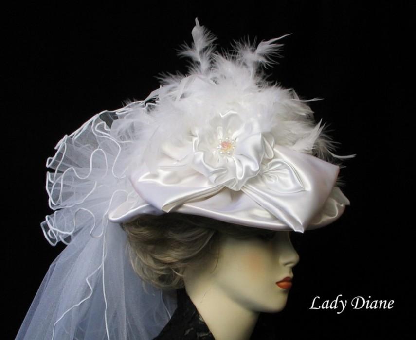 قبعات للعرائس 2012