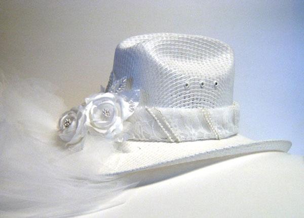 قبعات عروسه 2013 قبعات جديدة
